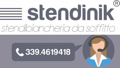 Stendibiancheria da soffitto - Stendinik